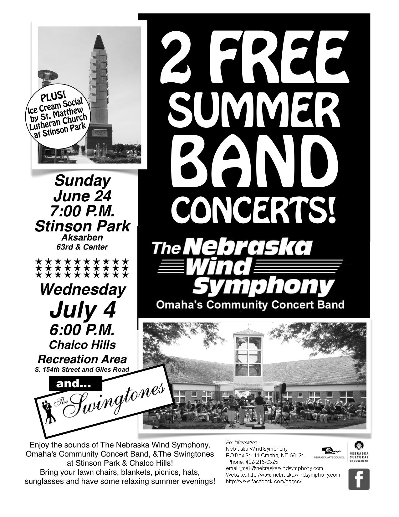 NWS Summer 2012 Concerts Flyer