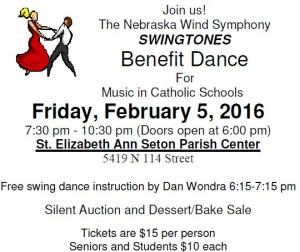MCS Benefit Dance - Friday, Feb 2, 2016